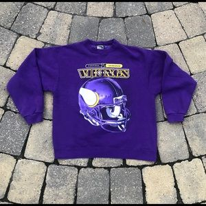 Vintage Pro Player Vikings Crew